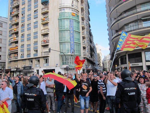 Imagen de la manifestación en València