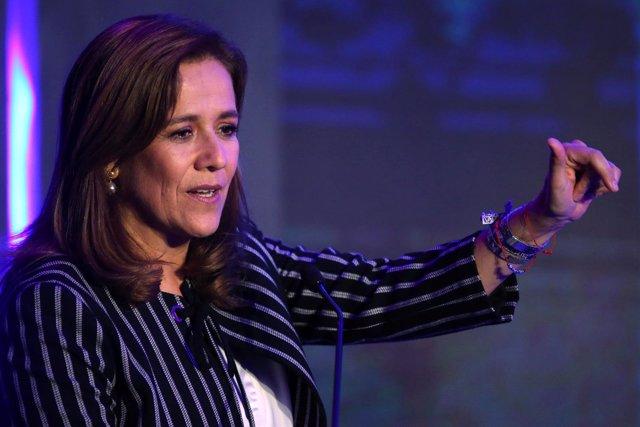 La exdiputada y ex primera dama de México Margarita Zavala.