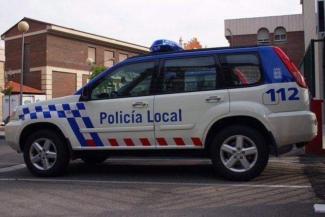Imagen de una patrulla de la Policía Local de Salamanca