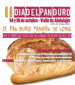 Cartel día del pan duro abdalajís