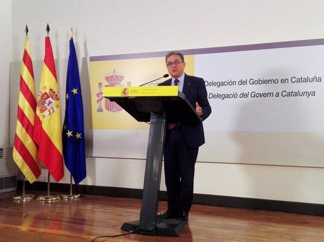 El delegado de Gobierno en Catalunya, Enric Millo