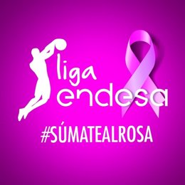 La Liga Endesa se une a la lucha contra el cancer de mama