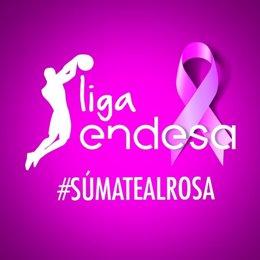 La Lliga Endesa s'uneix a la lluita contra el cancer de mama