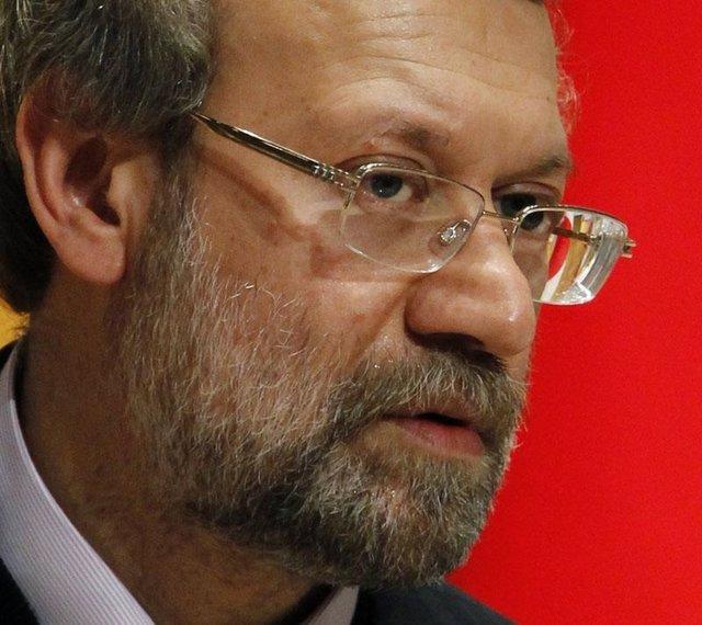 El presidente del Parlamento iraní, Ali Lariyani