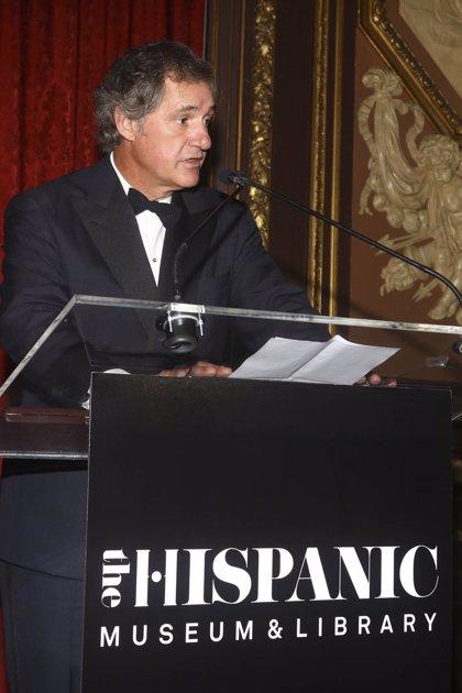 José Manuel Entrecanales recibe la medalla Sorolla por su 'contribución al arte y cultura hispánica'