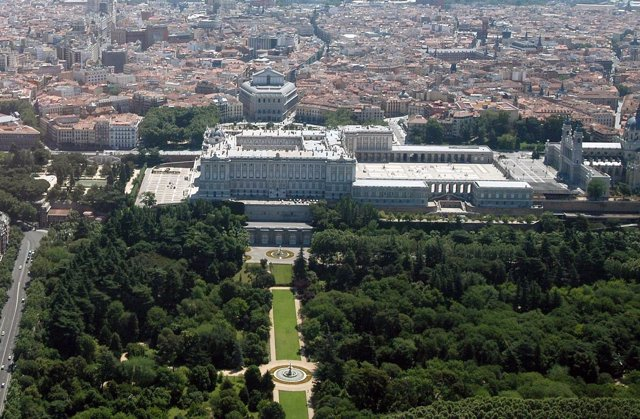Jardines de Sabatini de Madrid