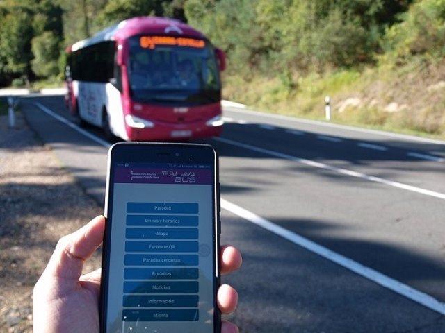 Aplicación transporte foral alava