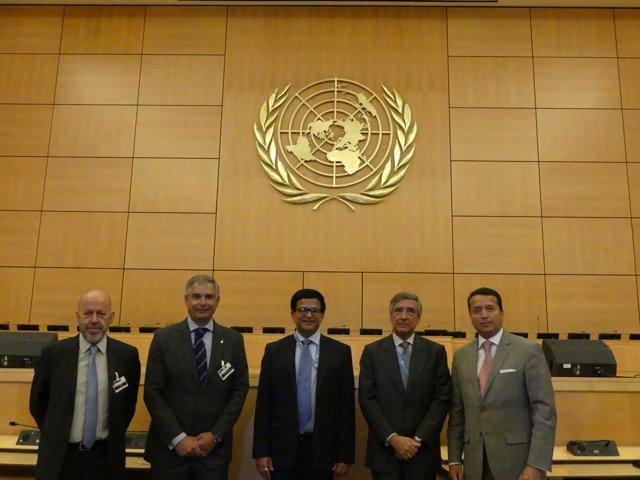 Firma acuerdo Ginebra entre la ONU y RACE