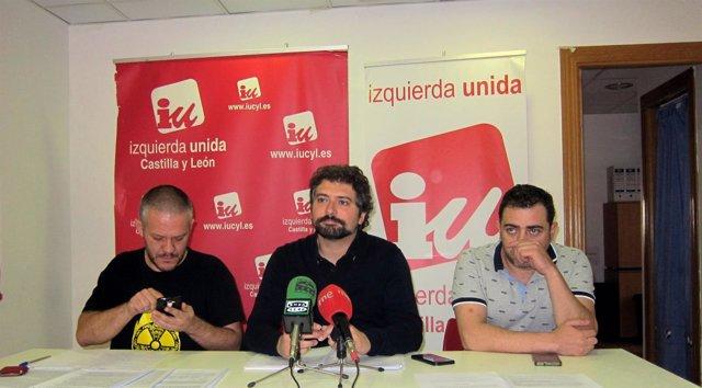 Rueda de prensa de José Sarrión en Salamanca