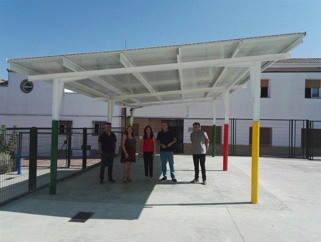 Visita al colegio de LaHiguera