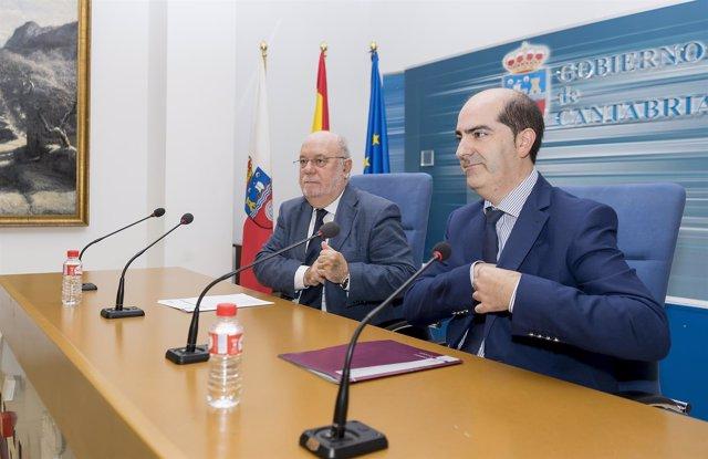 10:30Sala De Prensa Del Gobierno De Cantabria El Consejero De Economía, Hacienda