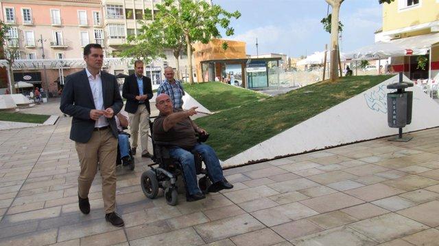 Ciudadanos Málaga. Accesibilidad