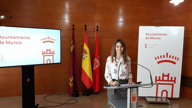 La portavoz del Equipo de Gobierno en el Ayuntamiento, Rebeca Pérez