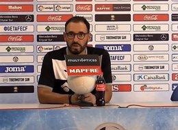 José Bordalás, entrenador del Getafe CF