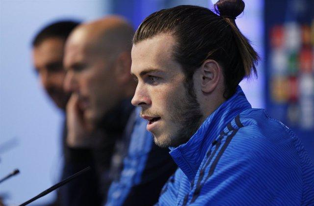 Gareth Bale y Zinedine Zidane