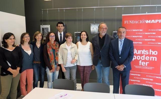 El Ayuntamiento de Lleida y la asociación Down han renovado su colaboración