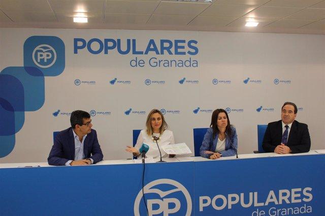 Parlamentarios andaluces del PP sobre los presupuestos de 2018 de la Junta
