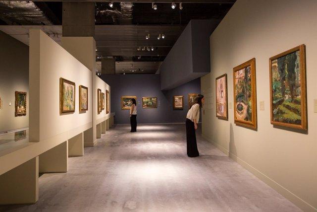 La exposición 'Sorolla. Un jardín para pintar' en CaixaForum Sevilla