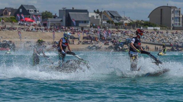 Motos de agua en el Campeonato de Europa
