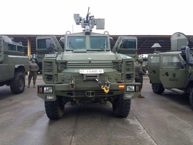 Carro de combate, vehículo militar, ejército español