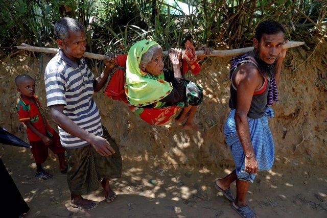 Refugiados rohingya en Bangladesh