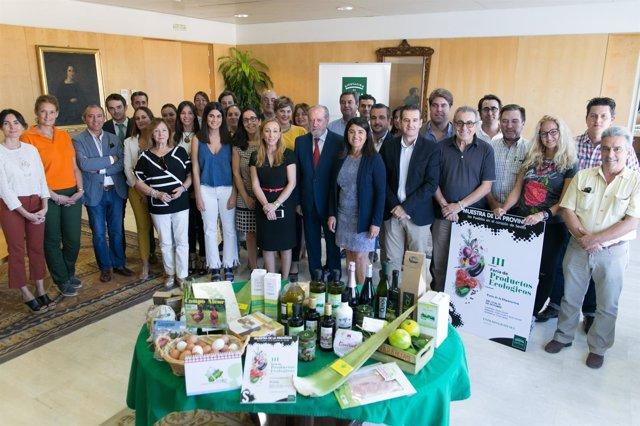 N.P Inaugurada La Iii Feria De Productos Ecológicos En La Diputación