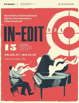 Cartell del Festival In-Edit 2017