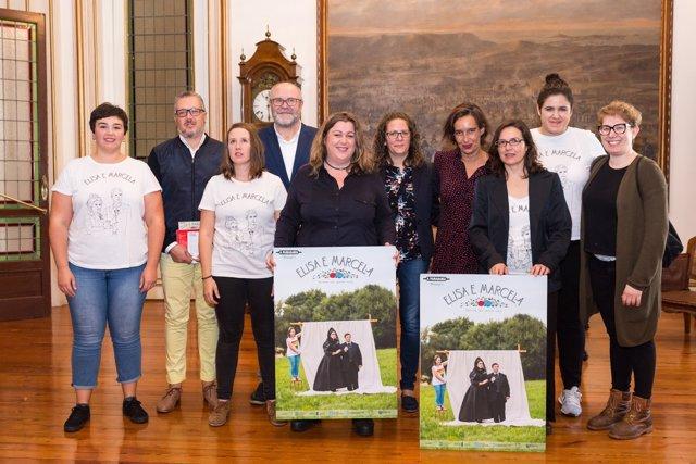 Presentación de 'Elisa E Marcela' en A Coruña