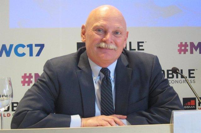 John Hoffman, consejero delegado de GSMA, MWC, Mobile World Congress