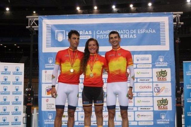 Albert Torres logra un doblete en el Campeonato de España de ciclismo en pista