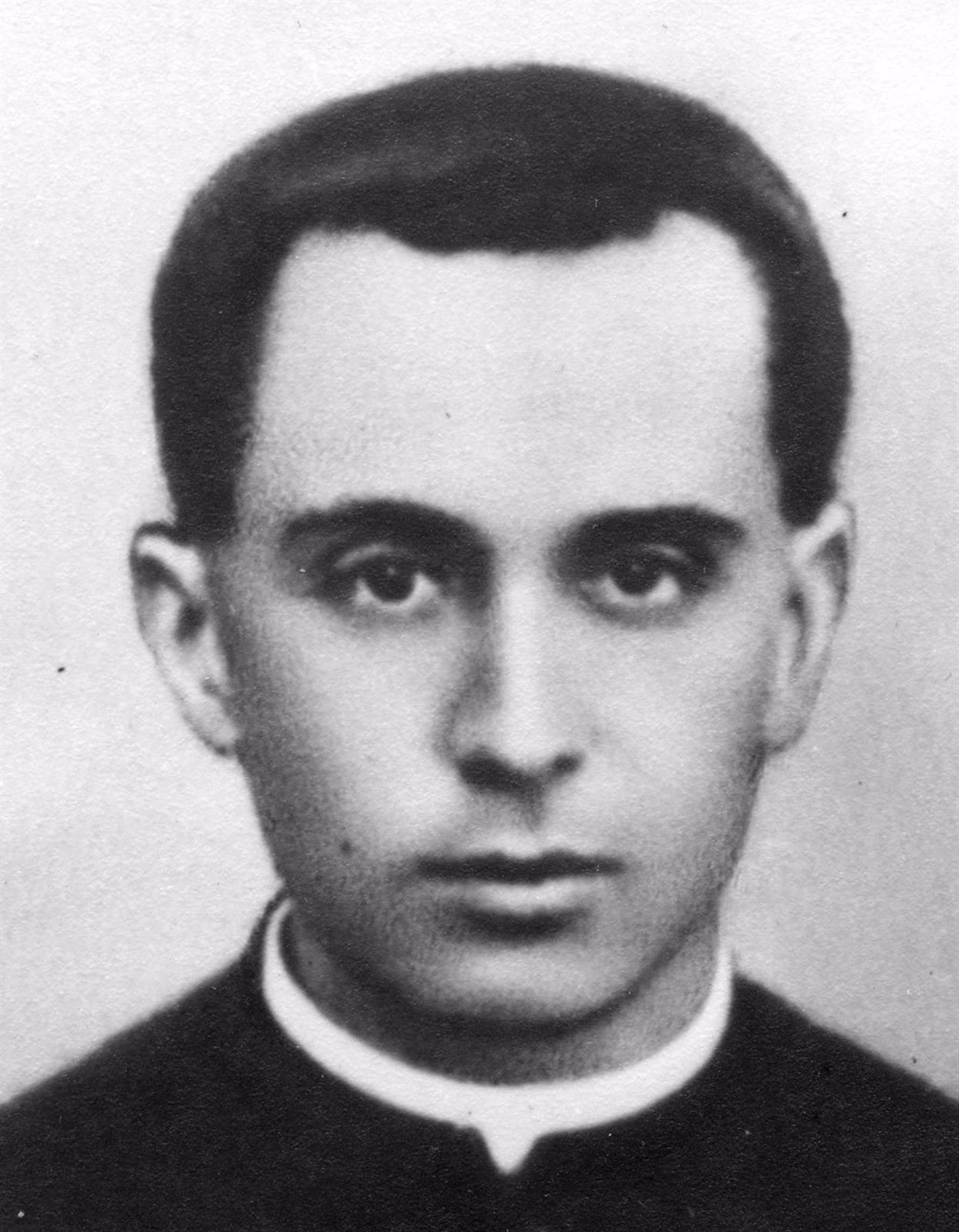 El padre José Ignacio Gordon.