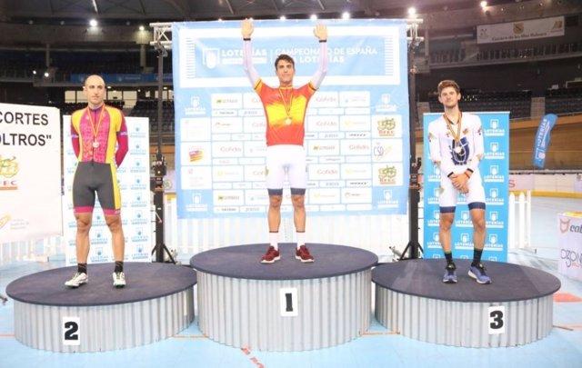 Albert Torres, campeón de España de scratch