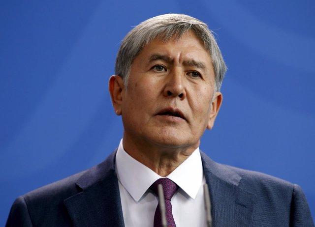 Presidente saliente de Kirguistán, Almazbek Atambayev