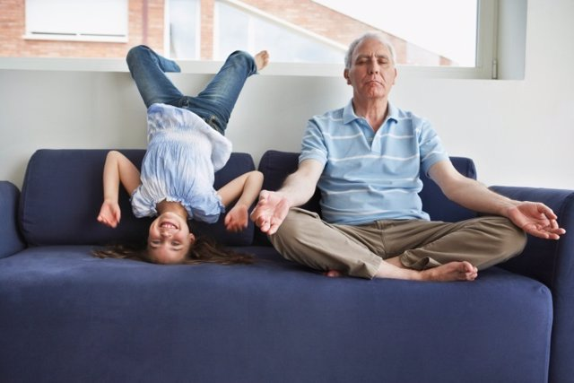Meditación contra el estres