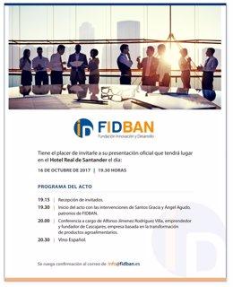 Presentación de FIDBAN