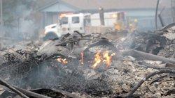 Augmenta a 40 el nombre de morts pels incendis forestals a Califòrnia (EUROPAPRESS)