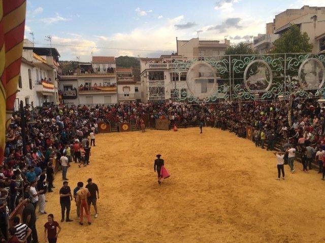 Resultado de imagen de festejos en la localidad granadina de La Peza.