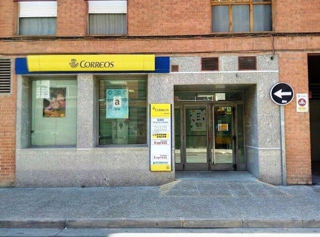 las oficina de correos de calatayud y utebo abren tambi n On oficinas de correos zaragoza