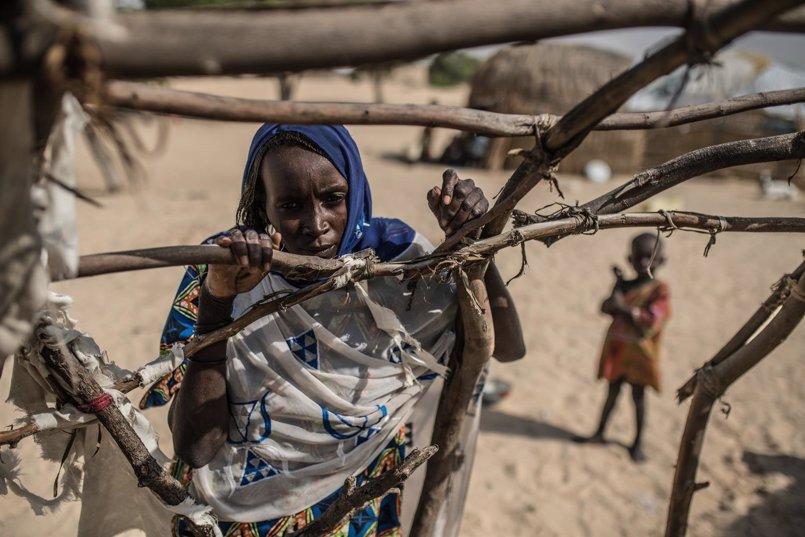 El hambre acecha a las víctimas de Boko Haram en Chad, sin medios para ganarse la vida