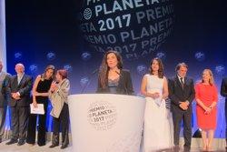 Cristina López Barrio, finalista del Premi Planeta 2017 amb una novel·la de misteri i emocions (Europa Press)