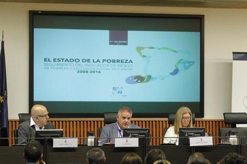 Presentación de El Estado de la Pobreza. España 2017 VII Informe anual