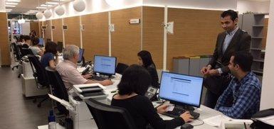 Barcelona obre una oficina per agilitar la gestió de prestacions socials i econòmiques (EUROPA PRESS)