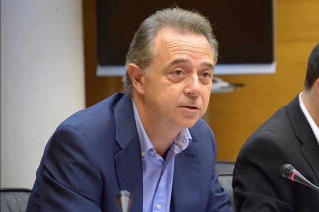 José Marái Vidal en Les Corts Valencianes