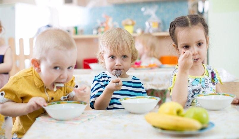 Buenos hábitos alimenticios a través de los menús escolares