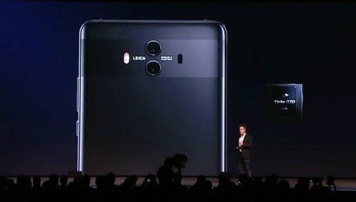 Presentación serie Mate 10 de Huawei