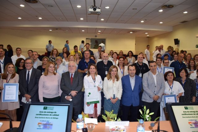 Hospital Antequera recibe certificación calidad