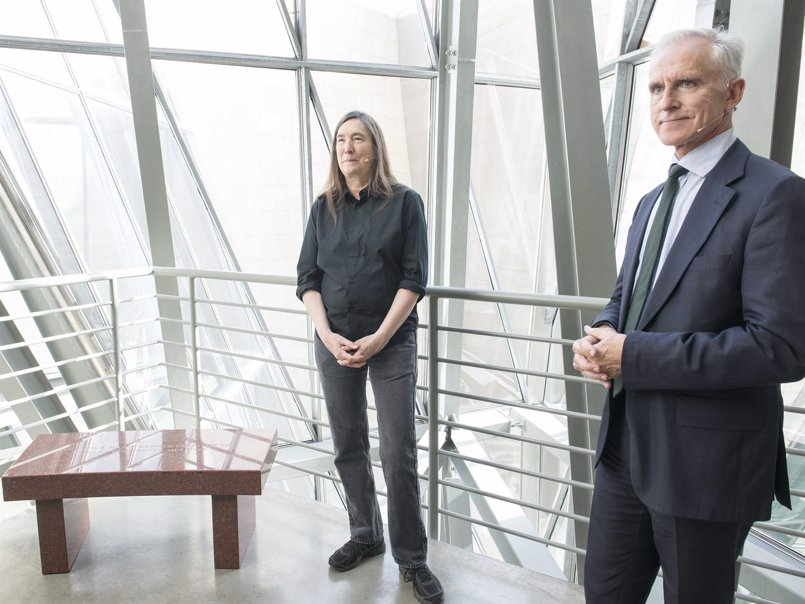La artista Jenny Holzer dona al Museo Guggenheim Bilbao tres obras para su Colección