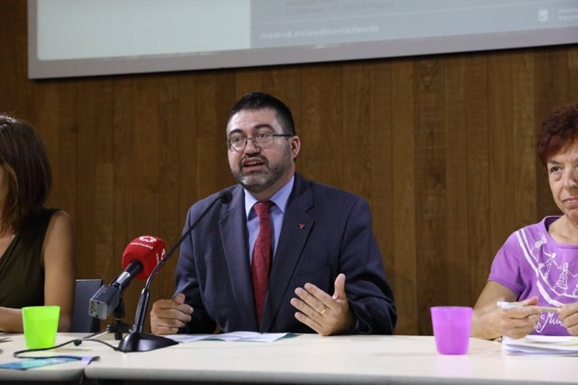 Sánchez Mato durante su intervención en las jornadas de impacto de género