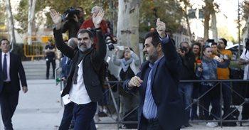"""Prisión para Sànchez y Cuixart por """"apelar a la resistencia"""" con el fin de evitar la aplicación de la ley"""