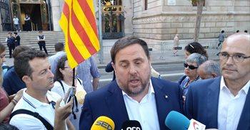 El Gobierno podría apartar a Junqueras de su cargo e intervenir ingresos autonómicos de Cataluña con el 155